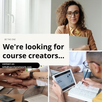 We're looking for all passionate and emerging course creators. Specifically if you are excited about helping student-athletes, have expertise in holistic wellness or life-transitions.   Don't have a template or know where to start? Don't stress, we've got you covered. DM us with your ideas.  One Community. One Platform.  Be The One