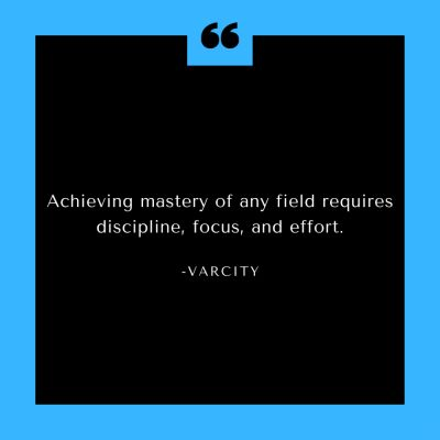 VarCity Community quote of the day...